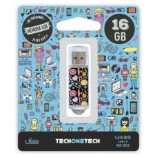 PENDRIVE TECH1TECH-CANDY POP 16GB
