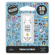 PENDRIVE TECH1TECH-NOESTUYO 16GB