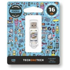 PENDRIVE TECH1TECH-BYB SMIDR CER 16GB