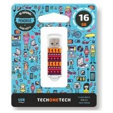 PENDRIVE TECH1TECH-TRIBAL 16GB