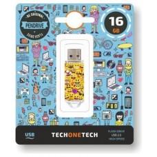 PENDRIVE TECH1TECH-EMOJIS 16GB