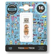 PENDRIVE TECH1TECH-NO EVIL 16GB